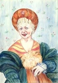 Gean in Regency style - by Natalie Dekel, April 2008.