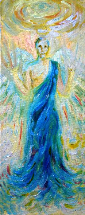 Three Angels #1 - by Natalie Dekel, 2012.