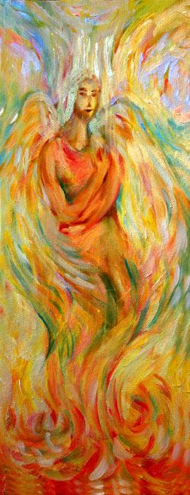 Three Angels #2 - by Natalie Dekel, 2012.