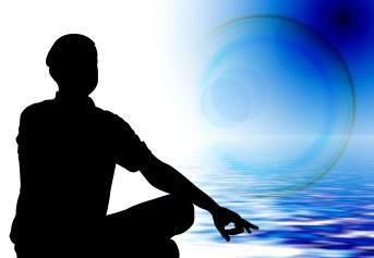 silhouette-meditation