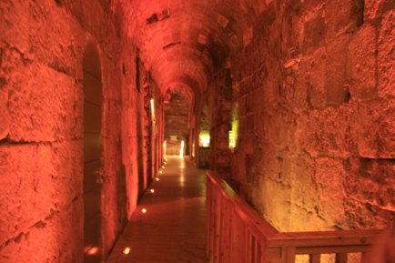 Jerusalem, Israel. The tunnels. (Photo: Gil Dekel, 2019)