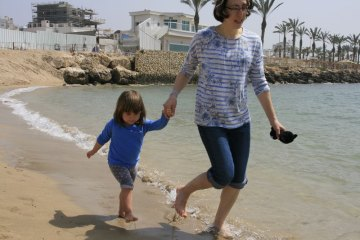 Nahariya seaside city. Israel. (Photo: Gil Dekel, 2019).