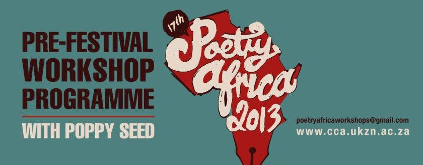 Pre-Festival Poetry Africa Workshop Programme