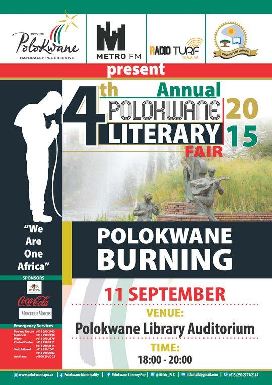 Polokwane Burning Poetry PLK Lit Fair