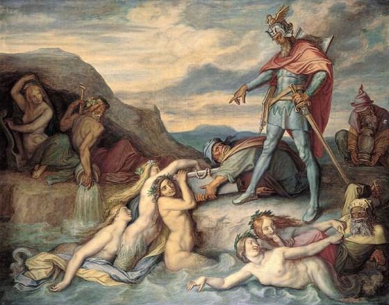 Peter_von_Cornelius_Hagen_versenkt_den_Nibelungenhort_1859