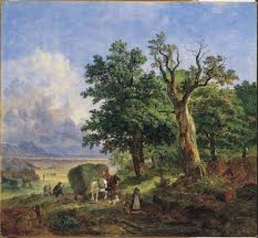 heinrich burkel harvest 1839
