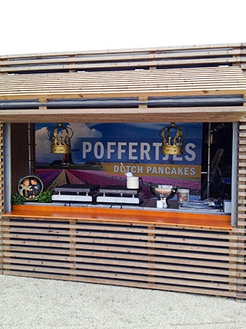 poffertjes unit floriade