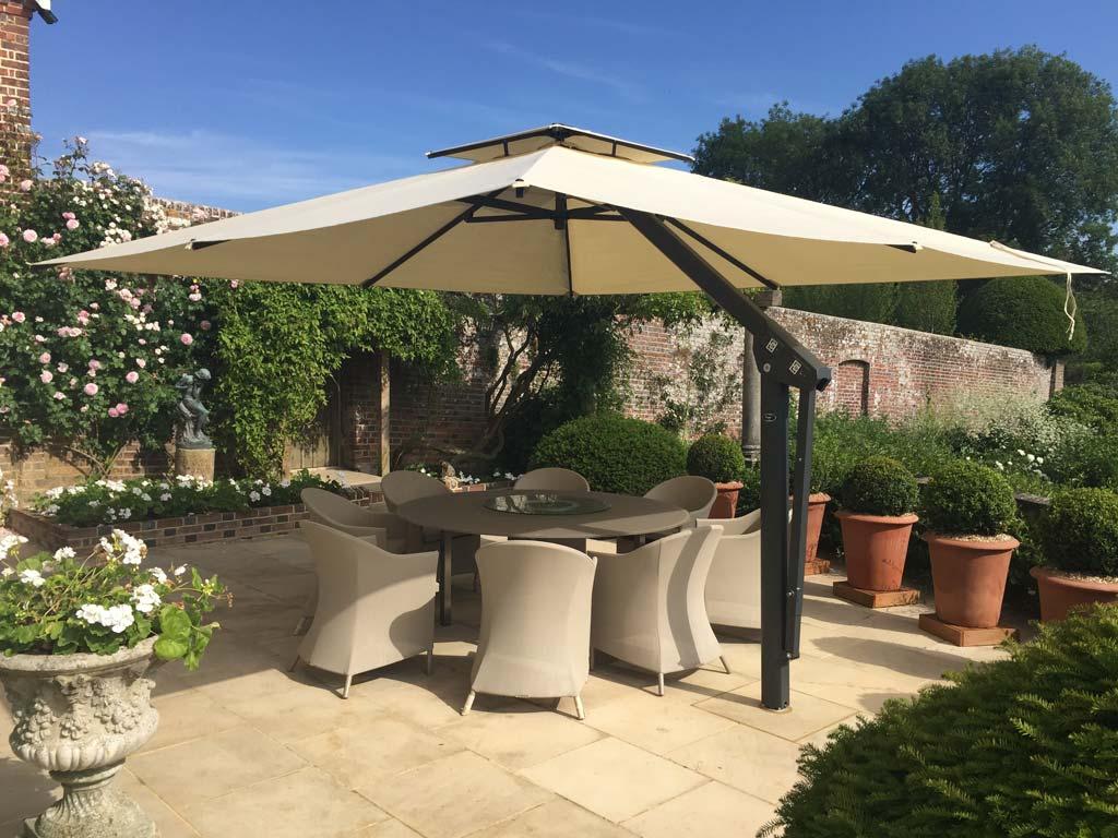 poggesi garden umbrellas large