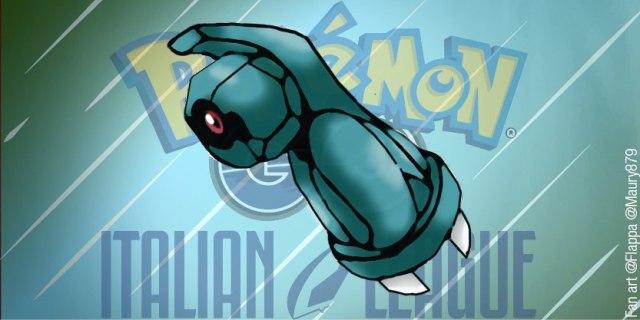 Fan Art disegno pokémon Beldum per Italian League