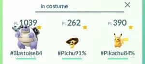 Ricerca Pokémon con oggetti speciali