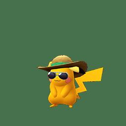 Pikachu con il berretto estivo