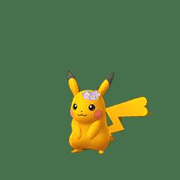 Pikachu con i fiorellini