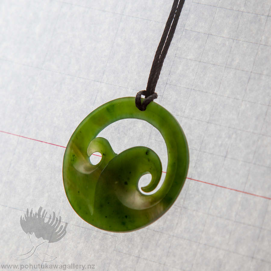 stone silver silvermoon matau zealand brands greenstone green necklace koru new pendant