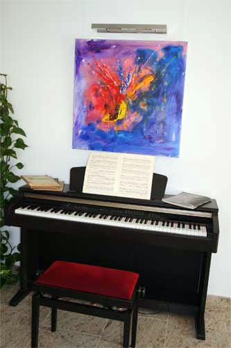 Kunst zu Hause