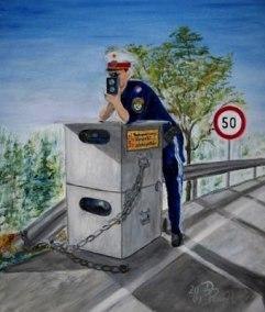 Geschwindigkeitsüberwachung