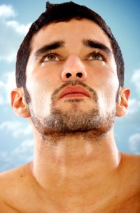 male face for cosmetic treatments for men in Geneva