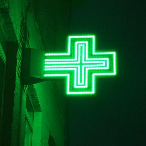 croix de pharmacie starled