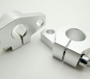 Supporto con Flangia SHF12 in alluminio per albero lineare da 12mm