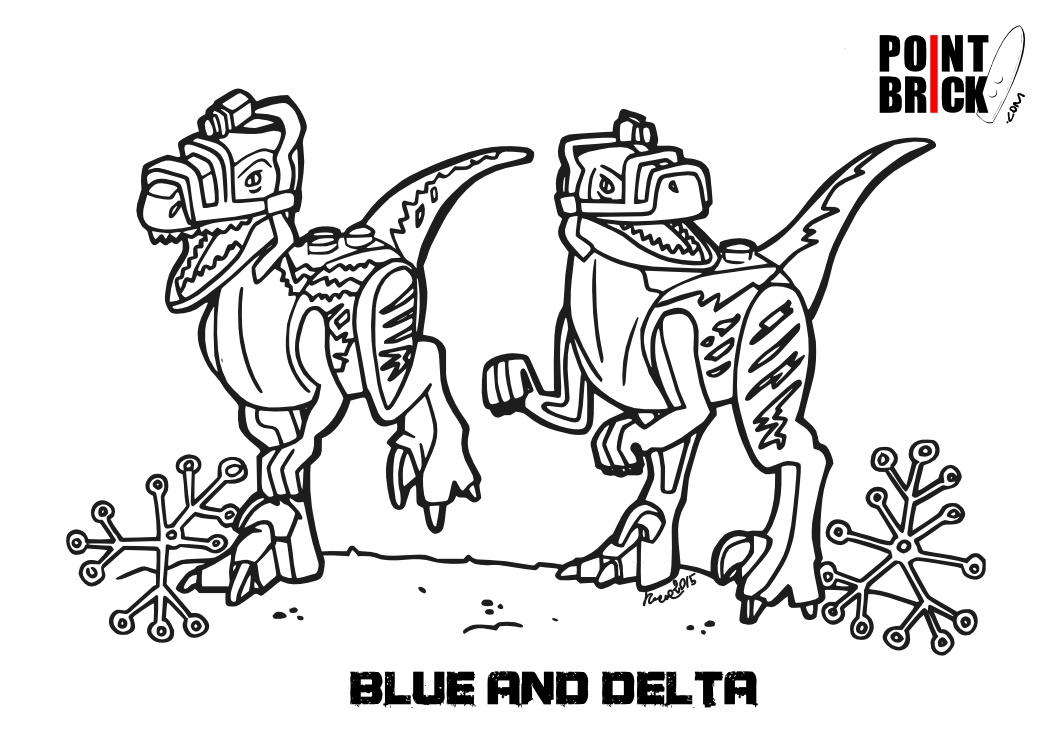 Jurassic World Velociraptor Coloring Pages Jurassic Park Trex