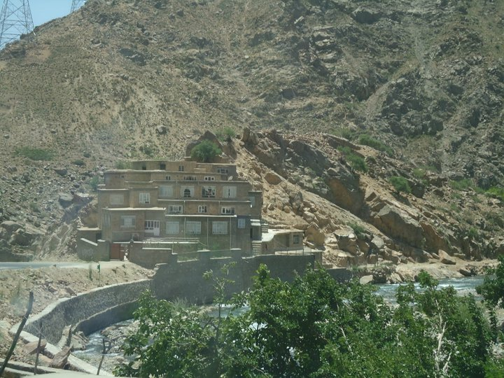 House in Salang, Afghanistan