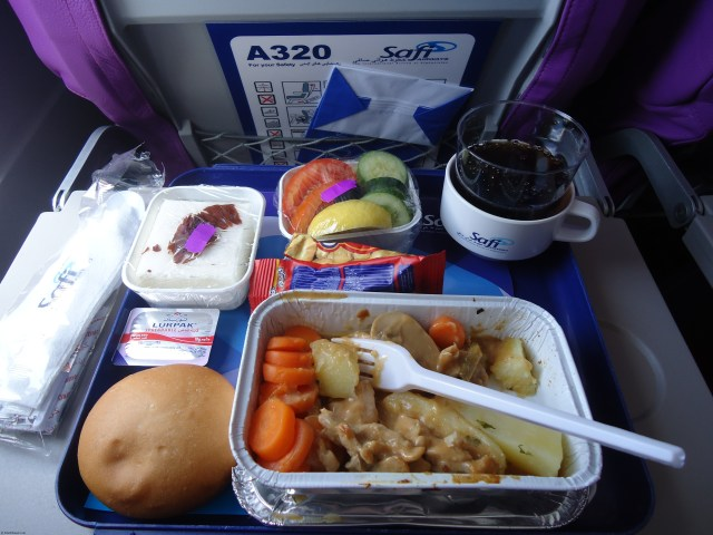 Safi Airways Meal