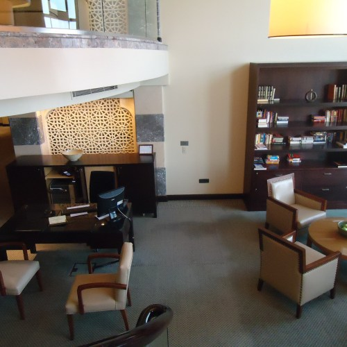 Club Level check-in