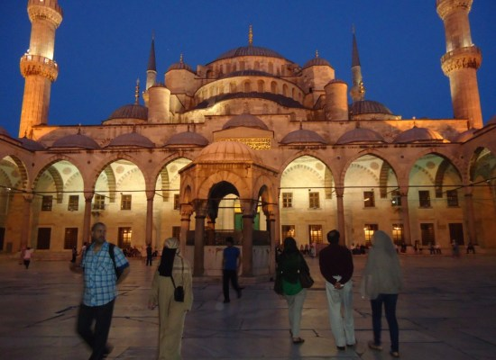 Sultanahmed Mosque Blue Mosque