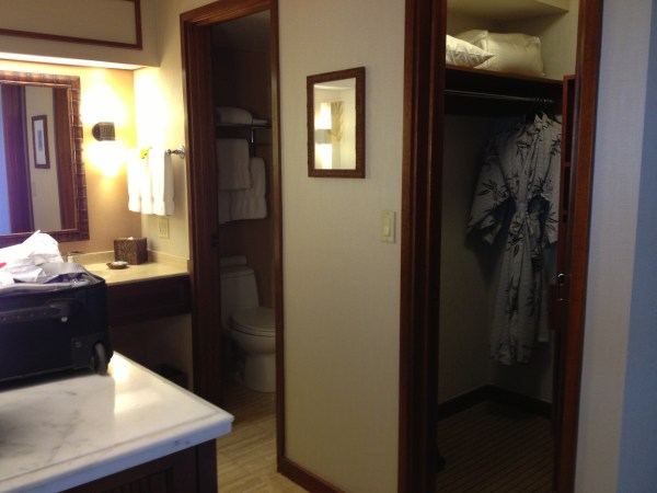 Hyatt Regency Maui Deluxe Oceanview Room Bathroom