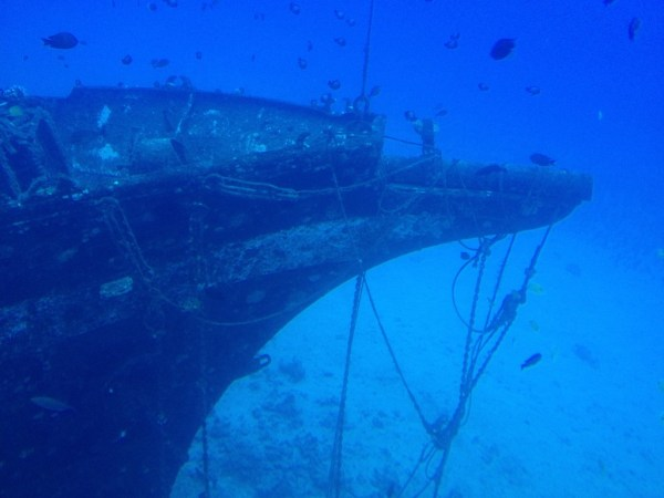 Atlantis Submarine Tour Shipwreck