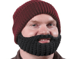 Weirdest Skymall Products - What on Earth Beard Hat