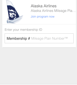 Google Wallet Award Tracking Alaska Airlines Mileage Plan
