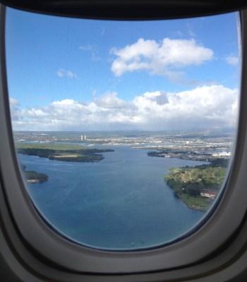 United Global First 777 SFO - HNL