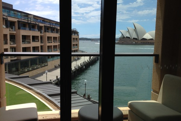 Park Hyatt Sydney Park Opera King View from the Balcony