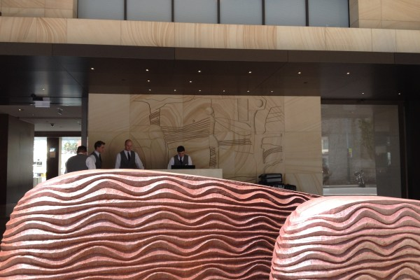 Park Hyatt Sydney Hotel Entrance Bell Desk
