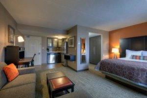 Staybridge Suites Hamilton Ontario Canada Studio Queen Suite