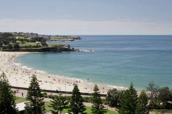 Views from the Crowne Plaza Coogee beach Source: Hotel website