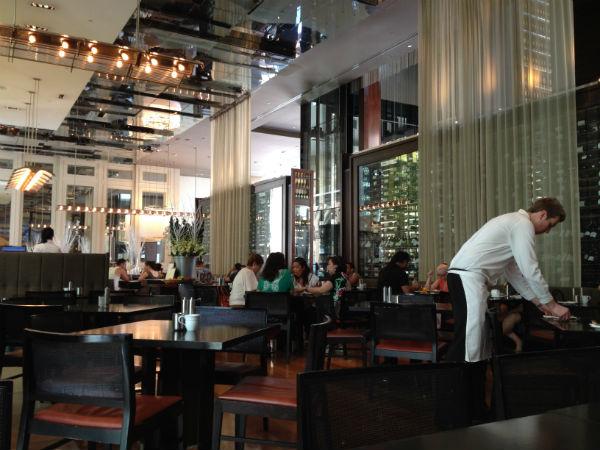 Glass Brasserie Hilton Sydney