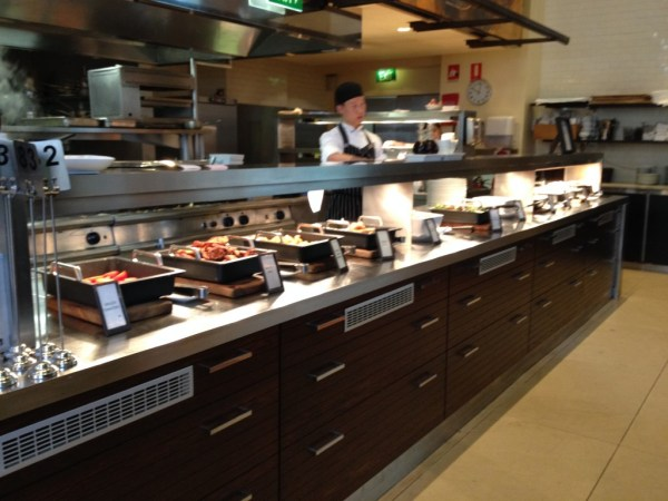 Hilton Sydney Glass Basserie Breakfast Buffet Hot Options
