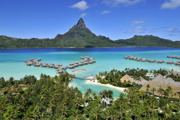 Put your sign-up bonus to use at the Intercontinental Bora Bora Resort