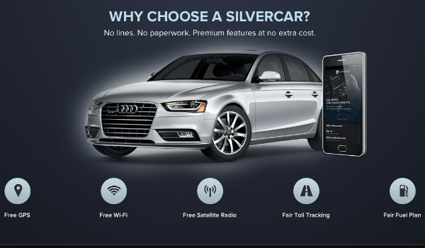 Get 50% off Silvercar rentals between November 16 - 21