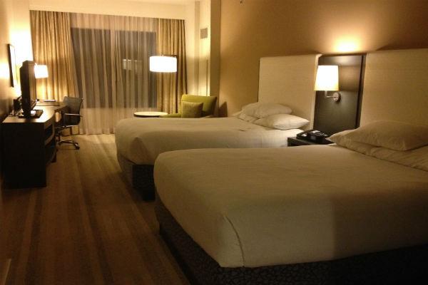 Queen Deluxe Room at the Hyatt Olive 8
