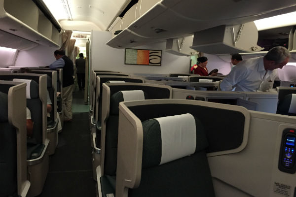 The Cabin: Cathay Pacific Business Class SFO - HKG