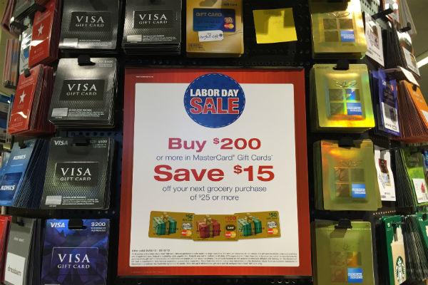 visa gift cards at safeway on sale - 15 Visa Gift Card