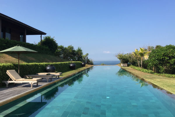 The 100 ft Pool at Villa Bulung Daya