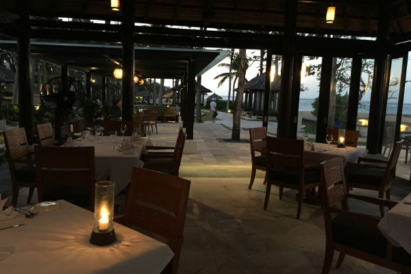 Eight Degrees South at Conrad Bali