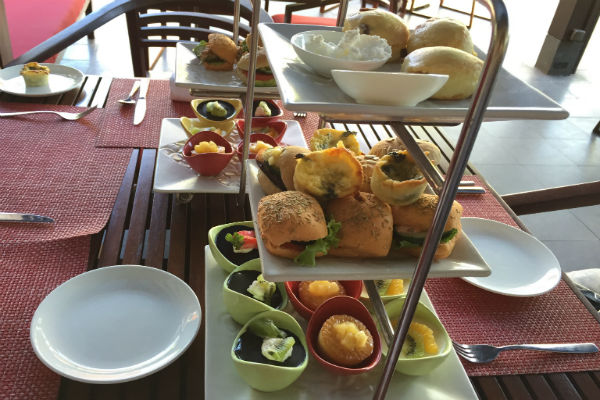 Afternoon tea at Conrad Bali RIN