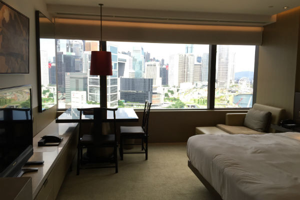 Grand Deluxe City View Room Grand Hyatt Hong Kong