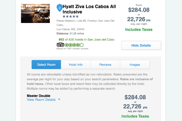 Hyatt Ziva Los Cabos Cheap Rates Ultimate Rewards Travel