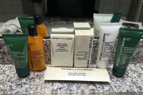 Hilton Munich Airport Peter Thomas Roth Bathroom Amenities