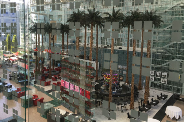 Hilton Munich Airport Atrium Lobby